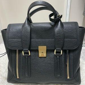 Phillip Lim Medium Pashli Black Leather